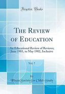 The Review Of Education Vol 7