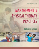 Management in Physical Therapy Practices Pdf/ePub eBook