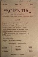Scientia   rivista di scienza Book