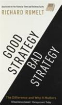 Cover of Good Strategy / Bad Strategy