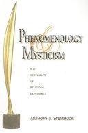 Phenomenology And Mysticism