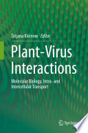 Plant Virus Interactions Book