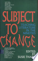 Subject To Change Book PDF