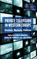 Pdf Private Television in Western Europe
