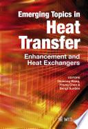 Emerging Topics in Heat Transfer Book