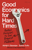 Pdf Good Economics for Hard Times Telecharger