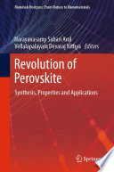 Revolution Of Perovskite Book PDF