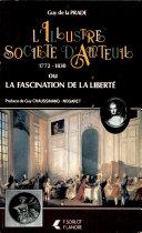 Pdf L'illustre société d'Auteuil 1772-1830, ou, La fascination de la liberté Telecharger