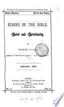 Echoes of the Bible Book