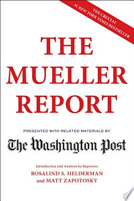 Book cover of 'The Mueller Report' by The Washington Post