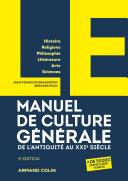 Pdf LE manuel de culture générale Telecharger