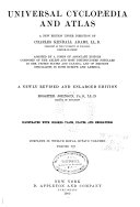 Universal cyclopaedia and atlas