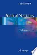 Medical Statistics Book