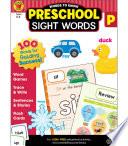 Words to Know Sight Words  Grade Preschool
