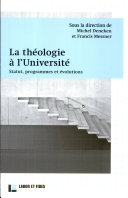 La théologie à l'Université