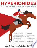 Hyperionides A Conservative Review Of Current Affairs