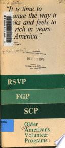 RSVP, FGP, SCP