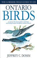 Lorimer Pocketguide to Ontario Birds