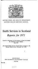 Health Services in Scotland  Report