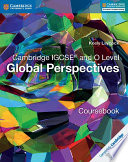 Books - Cambridge International Igcse� And O Level Global Perspectives Coursebook | ISBN 9781316611104