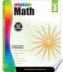 Spectrum Math Workbook Grade 3