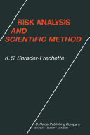 Risk Analysis and Scientific Method