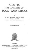 Aids To The Analysis Of Food And Drugs