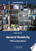 General Relativity Book PDF