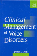 Clinical Management of Voice Disorders Book PDF