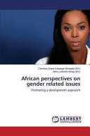 African Perspectives On Gender Related Issues