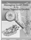 Managing Insect Pests in the Home Vegetable Garden