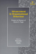 Advancement in Organizational Behaviour