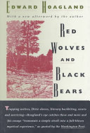 Red Wolves and Black Bears