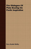 Pdf Five Dialogues Of Plato Bearing On Poetic Inspiration Telecharger