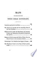 Union Bible Dictionary Prepared For The American Sunday School Union