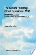 The Kleiner Feldberg Cloud Experiment 1990 Book