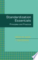 Standardization Essentials