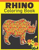 Rhino Coloring Book