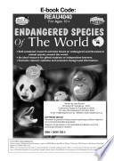 Endangered Species of the World Book
