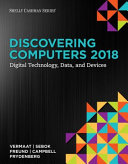 Discovering Computers   2018  Digital Technology  Data  and Devices