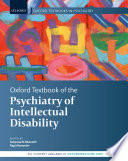 Oxford Textbook of the Psychiatry of Intellectual Disability Book