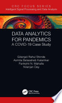 Data Analytics For Pandemics Book PDF