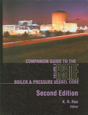 Companion guide to the ASME boiler & pressure vessel code