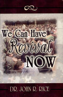 We Can Have Revival Now