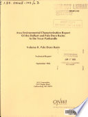 Area Environmental Characterization Report of the Dalhart and Palo Duro Basins in the Texas Panhandle: Palo Duro basin