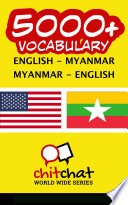 5000+ English - Myanmar Myanmar - English Vocabulary