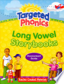 Targeted Phonics Long Vowel Storybooks Assessment Guide Book