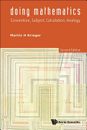 Doing Mathematics: Convention, Subject, Calculation, Analogy