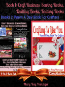 Craft Business  Sewing Books  Quilting Books  Knitting Books Compilation with 99  Places To Sell For Profit Beyond Etsy  Dawanda  eBay   Pinterest  Sewing  Quilting   Knitting Reference Guide For Beginners   Includes 400  Sewing  Quilting   Knitting Resou