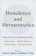 Homiletics and Hermeneutics Pdf/ePub eBook